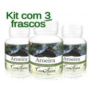 Aroeira - 3 potes com 60 cápsulas