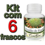 Cordão de Frade - 6 potes de 60 cápsulas