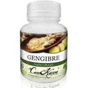 Gengibre - 4 potes com 60 cápsulas