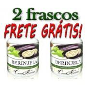 Kit 2 Frascos De Berinjela