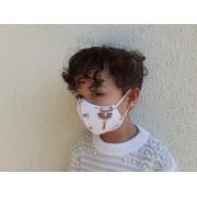 Kit 2 Máscaras Dupla Lavável Infantil