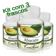 Kit 3 Frascos De Abacate (combate Infecções Urinárias)