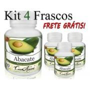 Kit 4 Potes De Abacate Em Capsulas