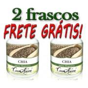 Kit Com 2 Frascos De Chia