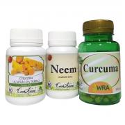 Kit neem(slim) e cúrcuma