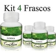 Losna - 4 potes de 60 cápsulas