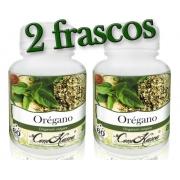 Orégano - 2 potes com 60 cápsulas