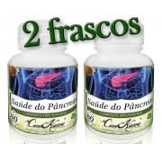 Saúde do Pâncreas - 2 potes de 60 cápsulas