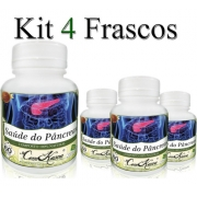 Saúde do Pâncreas - 4 potes de 60 cápsulas