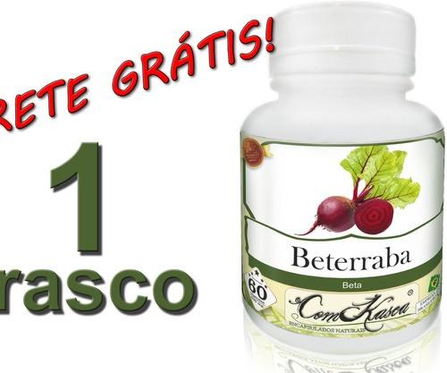 1 Frasco De Beterraba Comkasca ( 100 % Natural )