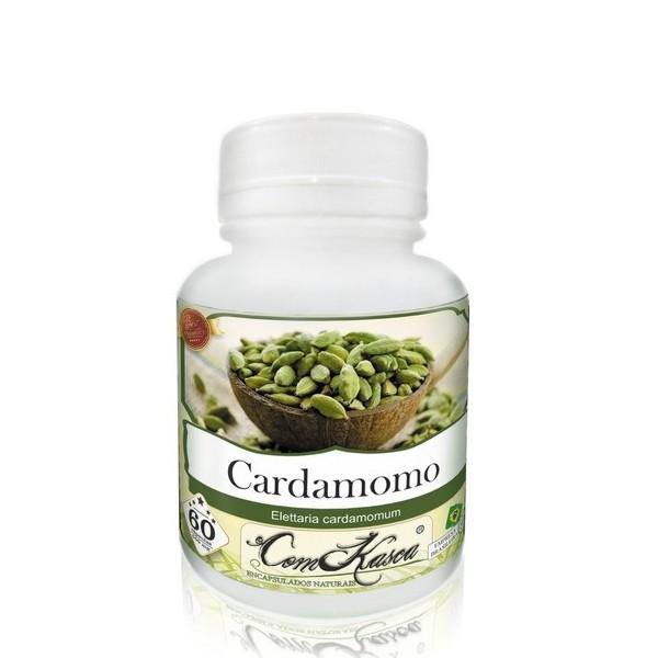Cardamomo - 1 pote com 60 cápsulas