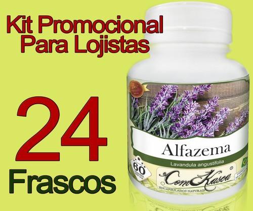 23 Potes De Alfazema (lavandula Angustifolia) Em Cápsulas