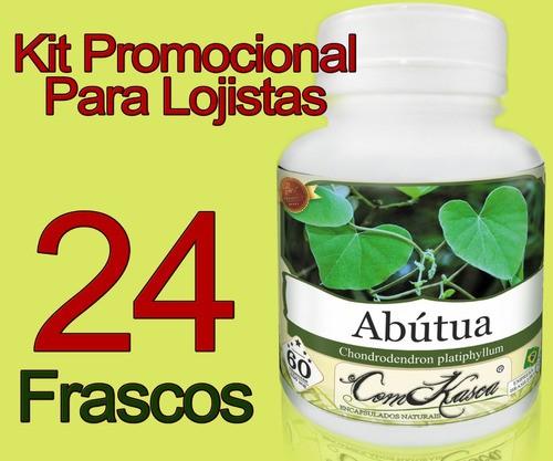 24 Frascos De Abutua Comkasca