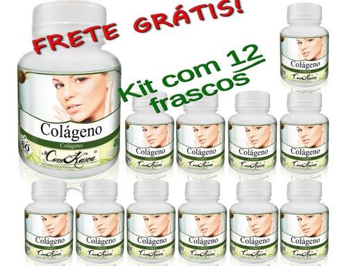 24 Frascos De Colágeno Caps