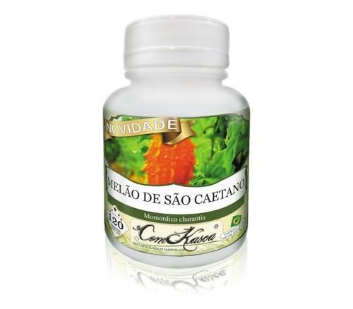24 potes de 120 cápsulas de melão de São Caetano