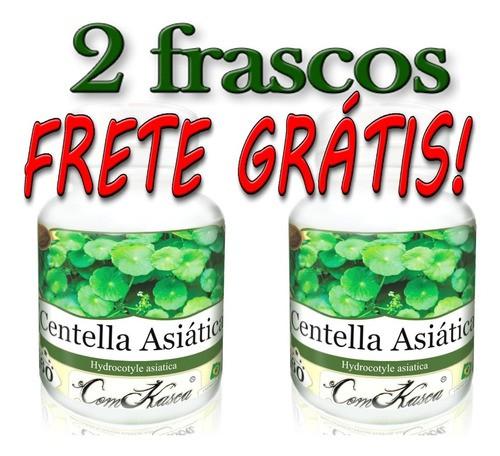2 Frascos De Centella Asiática - 120 Cápsulas