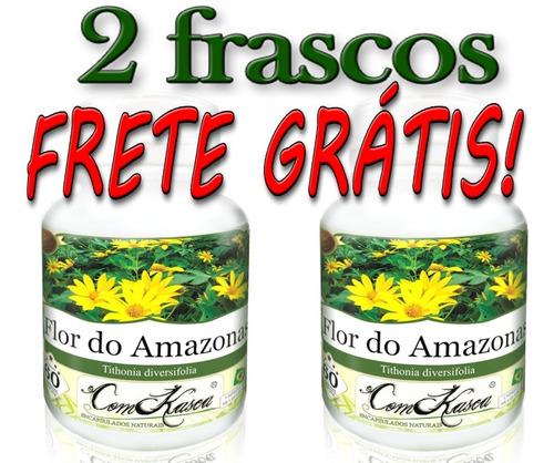 2 Frascos De Flor Do Amazonas