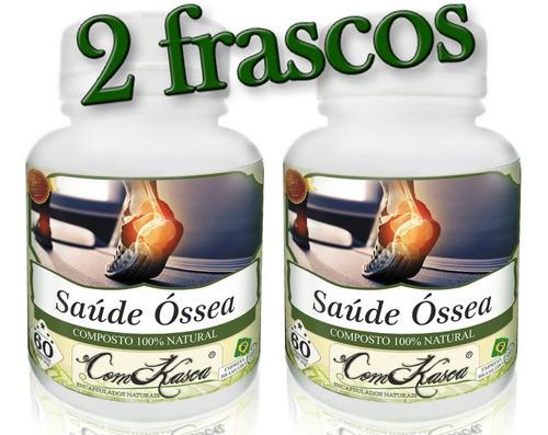 2 Frascos De Saúde Óssea (bom Para Os Ossos)