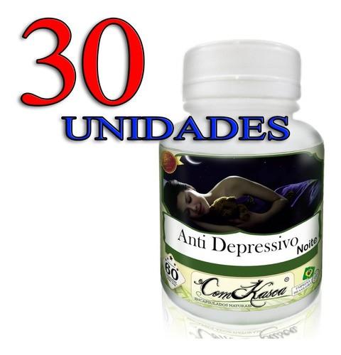 30 Potes De Anti Depressivo Para A Noite Em Cápsulas