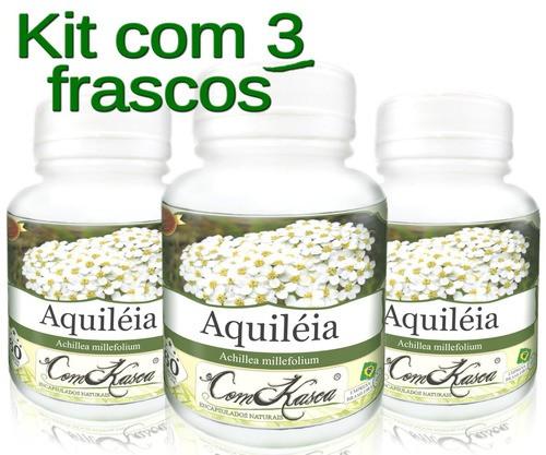 3 Frasco De Aquiléia 60 Caps
