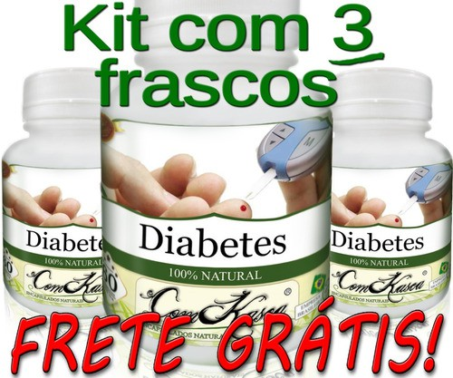 3 Frascos Anti-diabetes