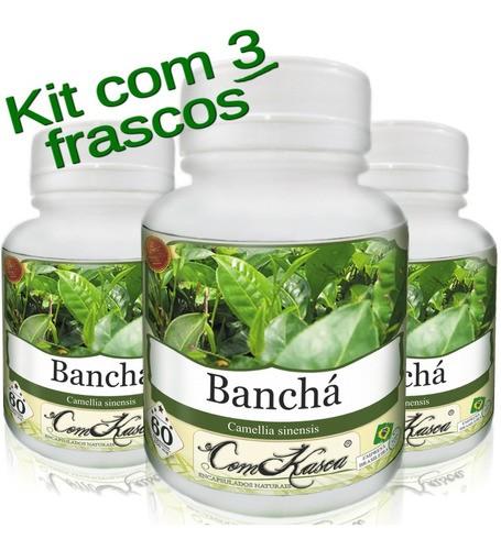 3 Frascos De Banchá - Ajuda A Emagrecer