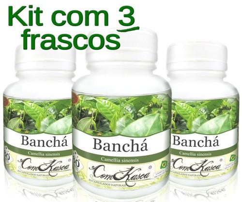 3 Frascos De Bancha (pura)