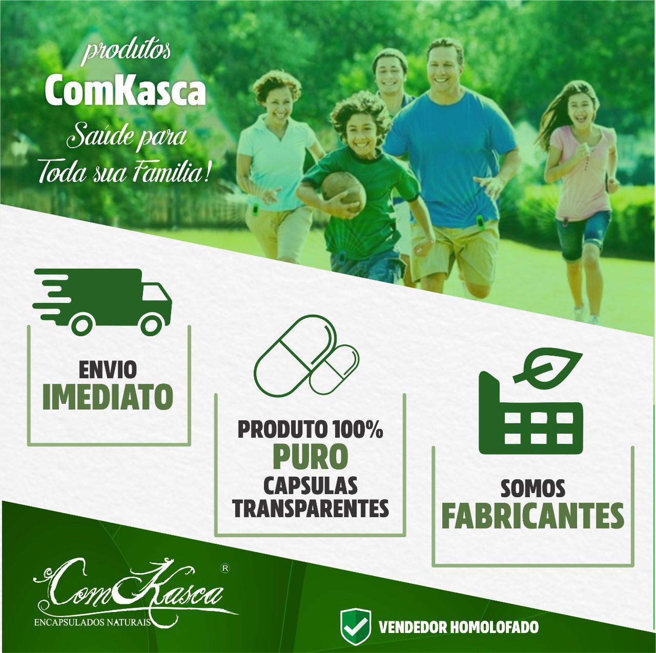 3 Frascos De Cacau Comkasca (100%natural)