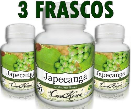 3 Frascos De Japecanga - Limpa O Organismo