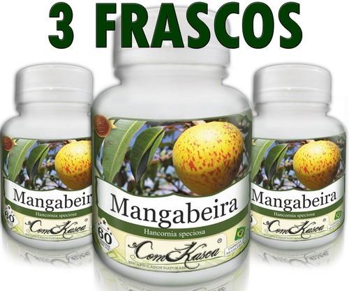 3 Frascos De Mangabeira