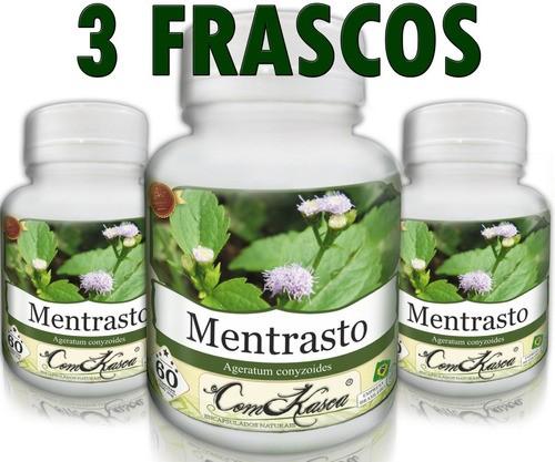 3 Frascos De Mentrasto - Alivia Tosse