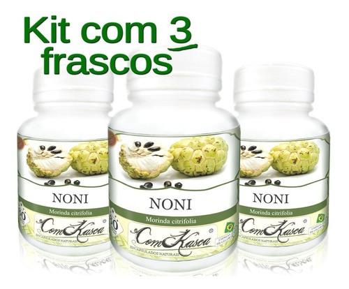 3 Frascos De Noni