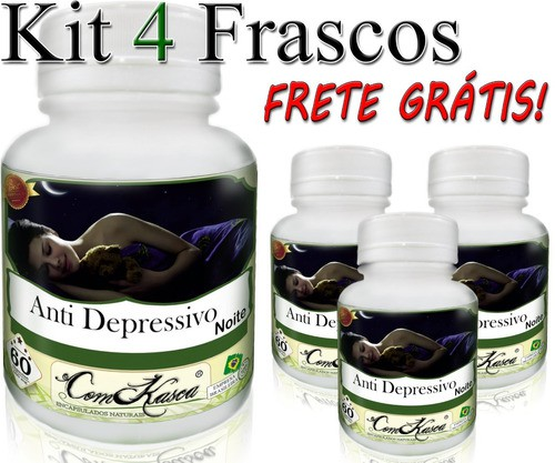 4 Potes De Anti Depressivo Para A Noite