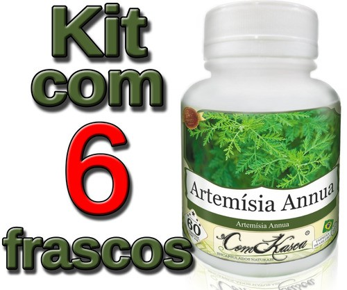 6 Frascos De Artemisia Annua (anua)