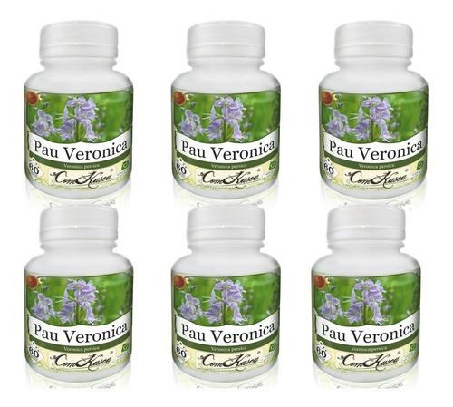 6 Frascos De Pau Veronica (previne Enxaqueca E Má Digestão)