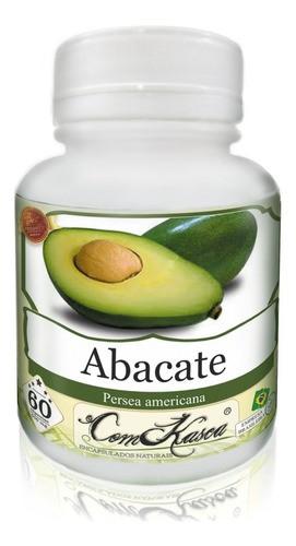 6 Potes De Abacate (persea Americana) Em Cápsulas