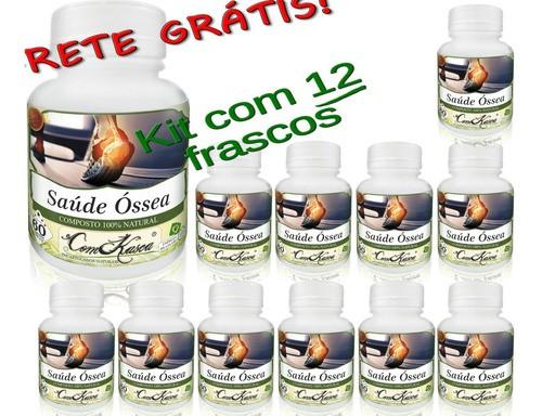 720 Cápsulas Em Pó De Saúde Óssea (combate Artrite)