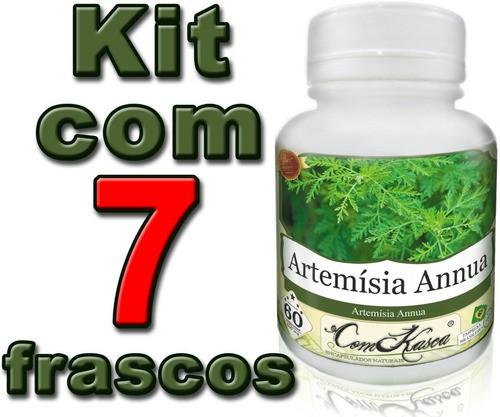 7 Frascos De Artemisia Annua (anua)