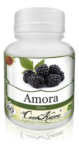 Amora - 6 potes com 60 cápsulas