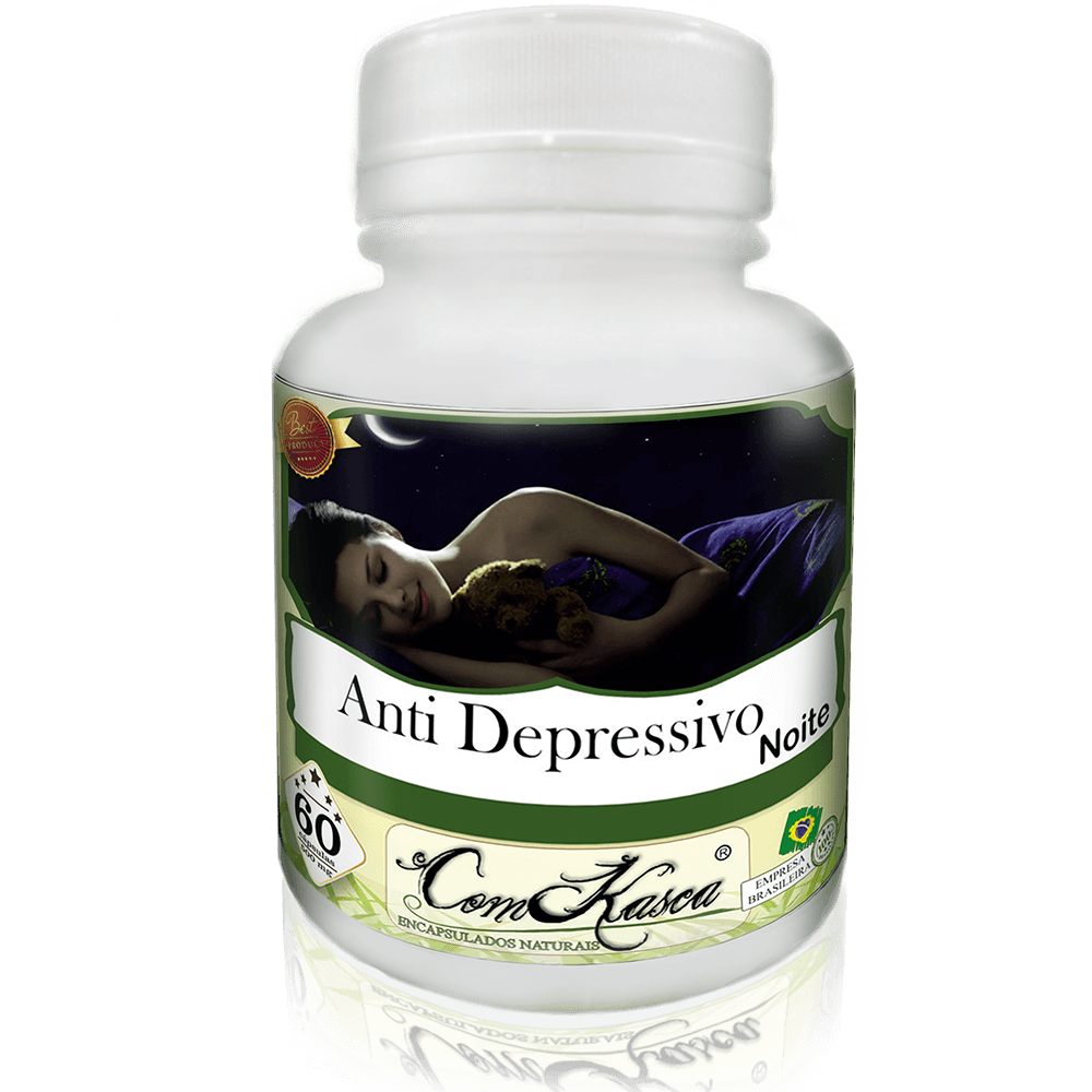 Anti Depressivo (noite) ComKasca 60 caps