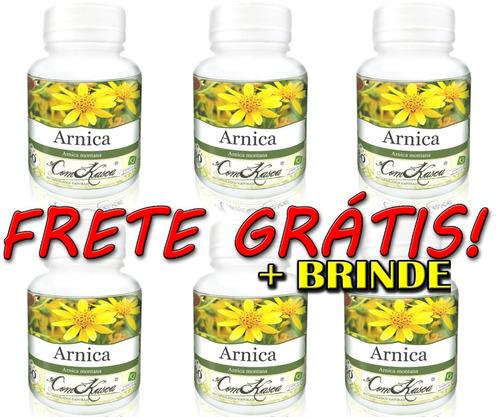 Arnica - 6 potes com 60 cápsulas
