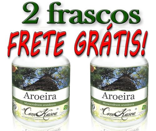 Aroeira - 2 potes com 60 cápsulas