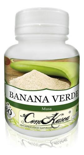 Banana Verde - 3 potes com 60 cápsulas