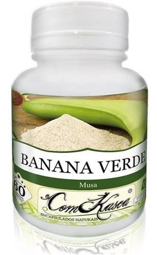 Banana Verde - 5 potes com 60 cápsulas
