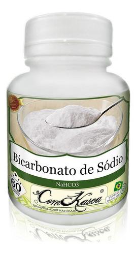 Bicarbonato de Sódio - 2 potes com 60 cápsulas