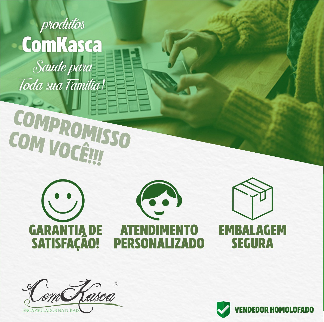 Composto Natural Anti Depressivo 60 Cáps