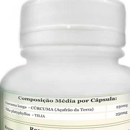 Curcuma E Tilia ComKasca 60 caps