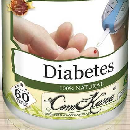 Diabetes ComKasca 60 caps