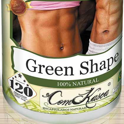 Emagrecedor (GREEN-SHAPE) ComKasca 120 caps