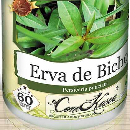 Erva de Bicho ComKasca 60 caps
